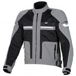 "MACNA RUSH MESH JACKET BLACK/GREY 38"" SM"