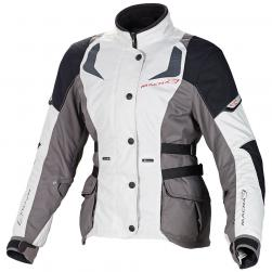 "MACNA NOVA WOMENS JACKET IVORY BLACK 36"" XS"