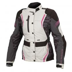 "MACNA BERYL WOMENS JACKET IV/GY/PN 40"" MD"
