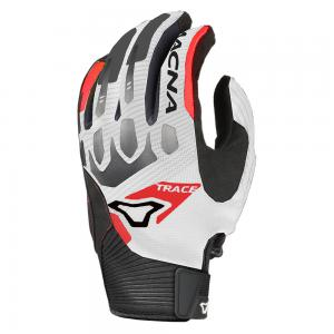 MACNA TRACE GLOVES WHT/BLK/RED