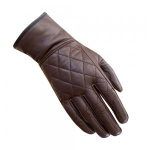 MERLIN GLOVES SALT LEATHER BROWN