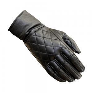 MERLIN GLOVES SALT LEATHER WOMENS BLACK
