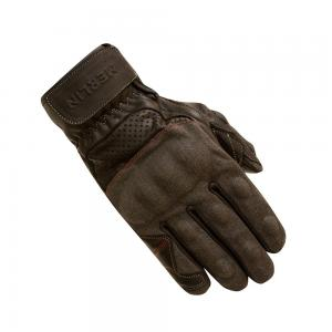 MERLIN GLOVES MAPLE LEATHER GREY