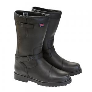 MERLIN BOOTS KEELE LEATHER BLACK