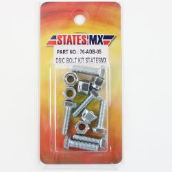 DISC BOLT KIT STATES MX