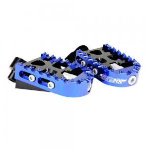 FOOTPEGS ADJUST STATES MX YAM BLUE*