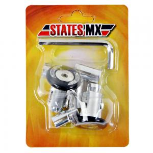 H/BAR ENDS STATE MX OFF ROAD BLACK