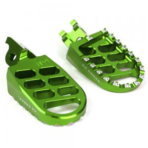 FOOTPEGS LA CORSA KX GREEN****