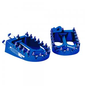 FOOTPEGS STATES MX KAWASAKI BLUE
