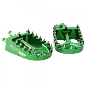 FOOTPEGS STATES MX KAWASAKI GREEN