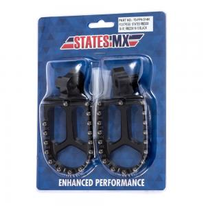 FOOTPEGS STATES MX SUZUKI RMZ '10> BLACK
