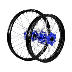 WHEEL SET YAM YZ85bw BLK/BLU/SIL