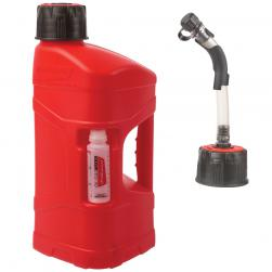 FUEL CAN POLISPORT 10L WITH HOSE