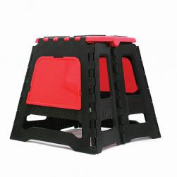 STAND MX STATIC FOLDING POLI RED