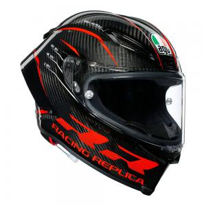 AGV PISTA GP RR PERFORMANCE CARBON/RED