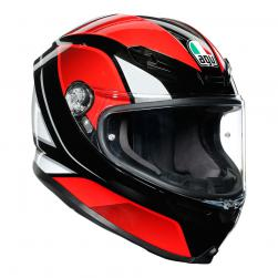 AGV K6 -  HYPHEN BLK/RED/WHT (58cm) ML
