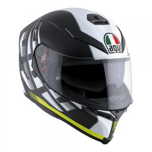 AGV K-5 S - DARKSTORM MATT BLACK/YELLOW