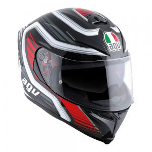 AGV K-5 S - FIRERACE BLACK/RED