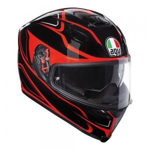 AGV K-5 S - MAGNITUDE BLACK/RED