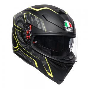 AGV K-5 S - TORNADO BLACK/YELLOW