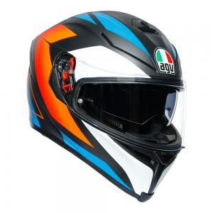AGV K-5 S - CORE BLK/BLU/ORANGE