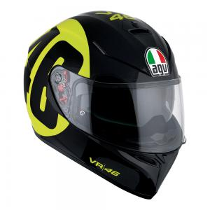 AGV K-3 SV - BOLLO 46 BLACK/YELLOW