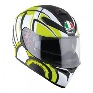 AGV K-3 SV - AVIOR MATT WHITE/LIME