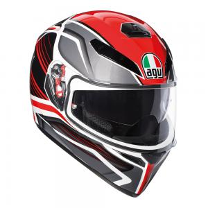 AGV K-3 SV - PROTON BLACK/RED