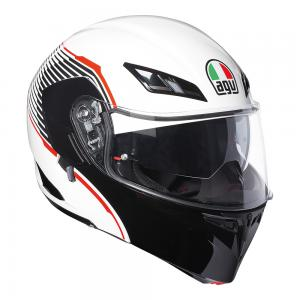 AGV COMPACT ST - VERM WHT/BK/RED