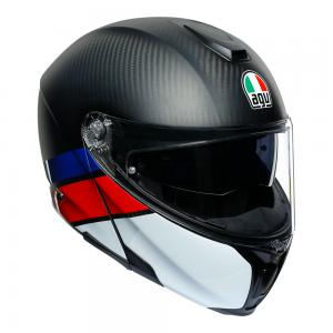 AGV SPORTMODULAR - CARBON/RED/BLUE