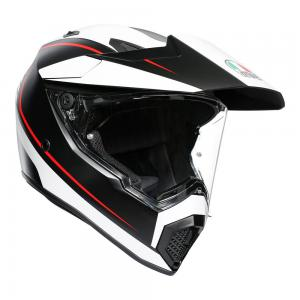 AGV AX-9 PACIFIC ROAD MT-BLK/WH/RD