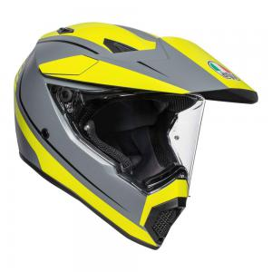 AGV AX-9 PACIFIC ROAD GRY/F-YEL/BLK