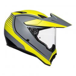 AGV AX-9 PACIFIC ROAD GRY/F-YEL/BLK (57cm) MS