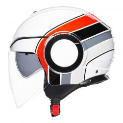 AGV ORBYT - BRERA WHT/GRY/RED (57-58cm) MD
