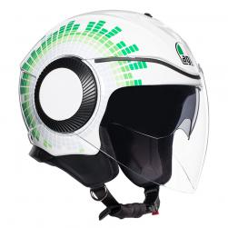 AGV ORBYT - GINZA WHHITE ITALY (57-58cm) MD
