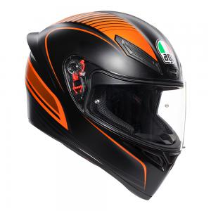 AGV K1 WARM UP BLACK/ORANGE