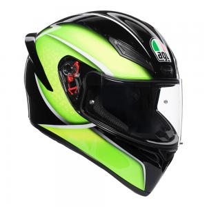 AGV K1 QUALIFY BLACK/LIME