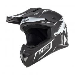NITRO MX620 PODIUM SATIN BLK/WHT (62cm) XL