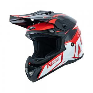 NITRO MX620 PODIUM BLK/RED/WHT