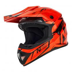 NITRO MX620 PODIUM JNR ORANGE BLACK (57-58cm) LG