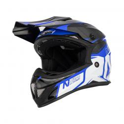 NITRO MX620 PODIUM JNR BLU/LIGHT BLU (53-54cm) SM