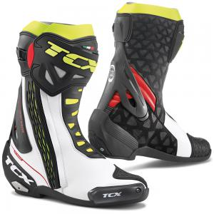TCX BOOTS RT-RACE WH/RE/YE