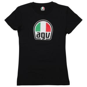 AGV T-SHIRT LADY BLACK SM