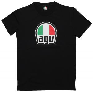 AGV T-SHIRT BLACK MD
