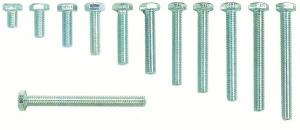 BOLTS HEX HEAD 6mm BOLTS