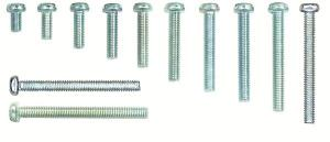 SCREWS PAN HEAD 6mm  (BAG 25)