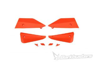 SABRE HANDGUARD - SPARE DEFLECTOR & PLUG SET ORANGE