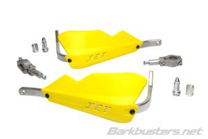JET HANDGUARD - 2 POINT MOUNT (22mm STD) YELLOW