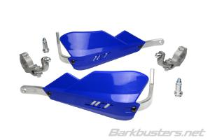 JET HANDGUARD - 2 POINT MOUNT (TAPERED) BLUE