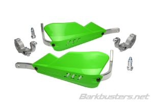 JET HANDGUARD - 2 POINT MOUNT (TAPERED) GREEN
